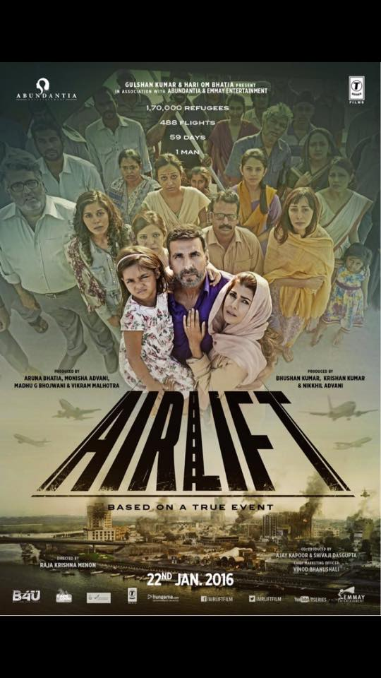 This trailer of Akshay kumar's AIRLIFT will give you Goose Bumps.